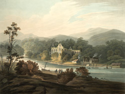North view of Tintern abbey